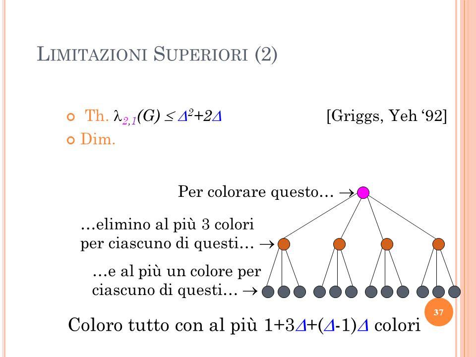 Limitazioni Superiori (2)