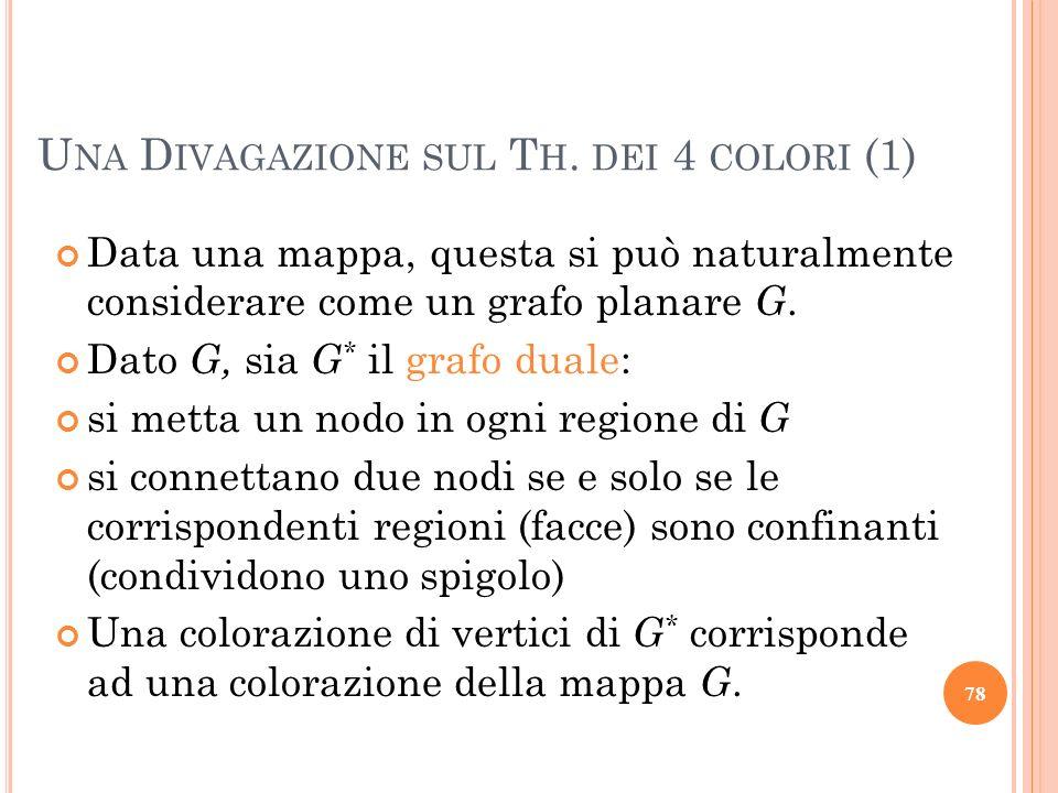 Una Divagazione sul Th. dei 4 colori (1)