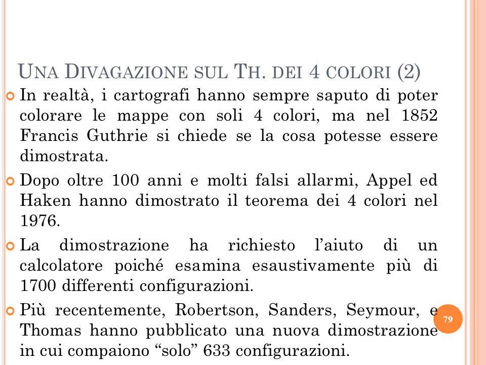 Una Divagazione sul Th. dei 4 colori (2)