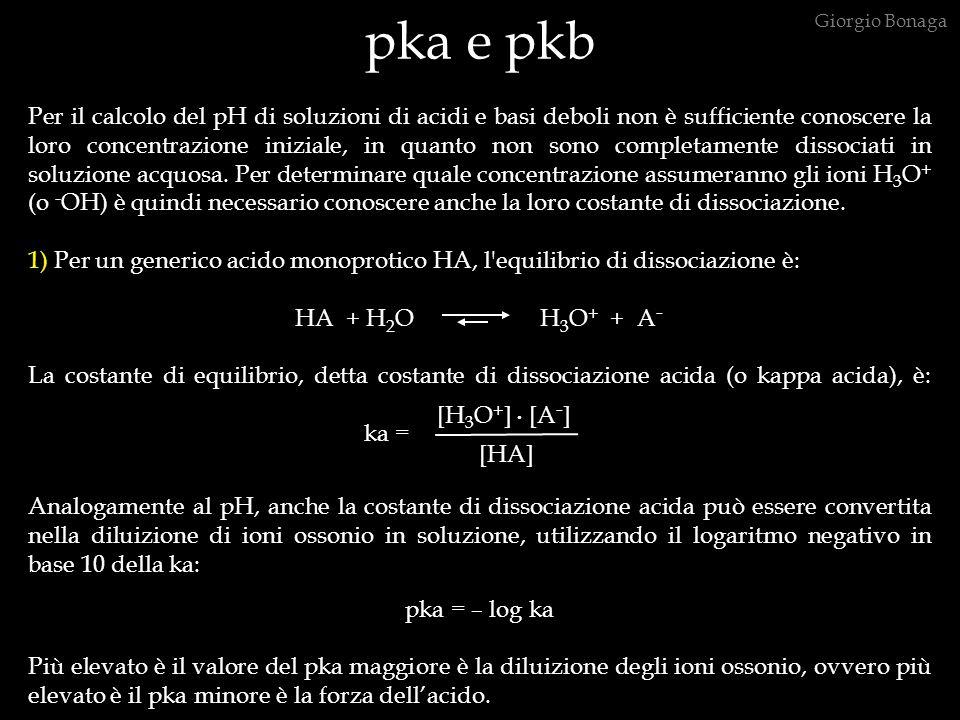 pka e pkb