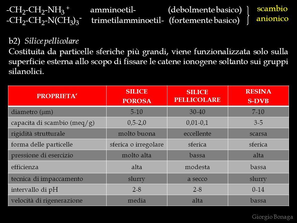 -CH2-CH2-NH3 + amminoetil- (debolmente basico)