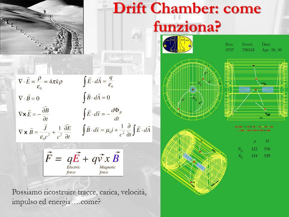 Drift Chamber: come funziona
