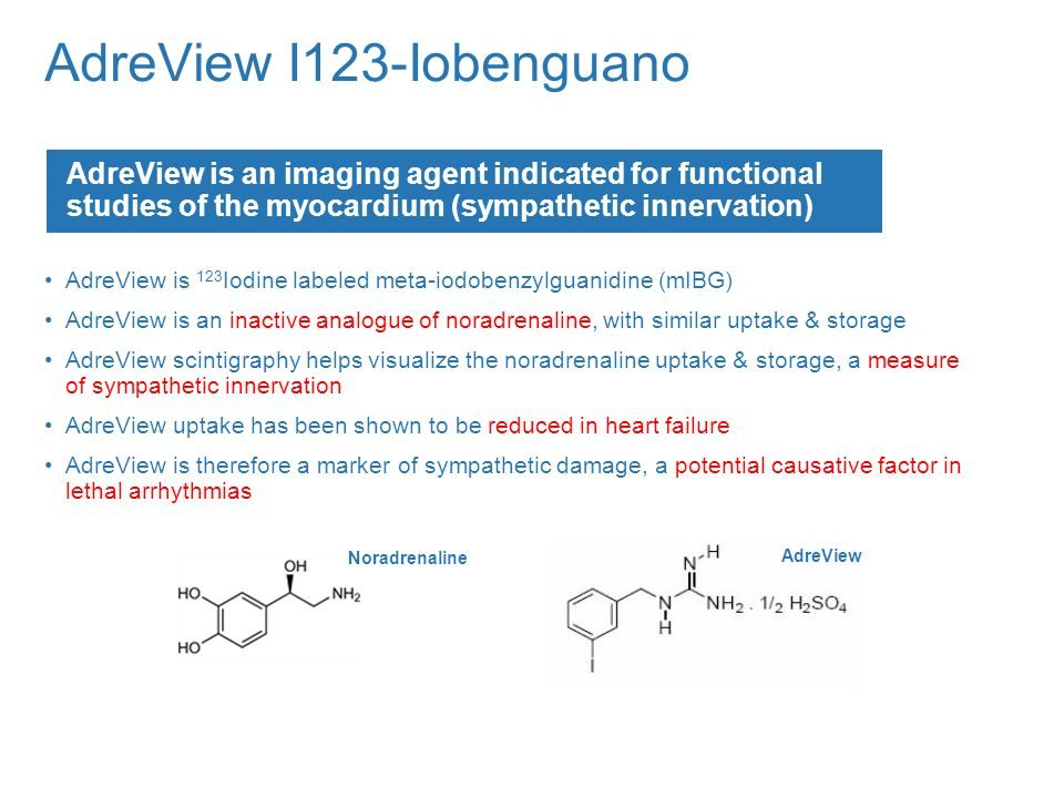 AdreView I123-Iobenguano