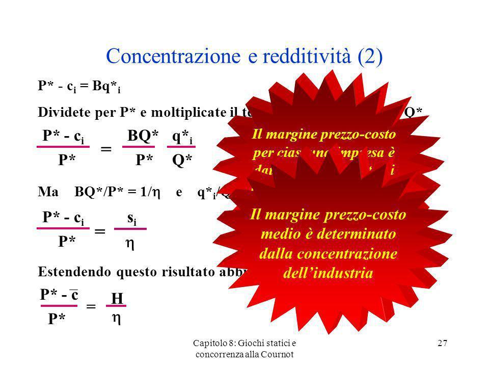 Concentrazione e redditività (2)