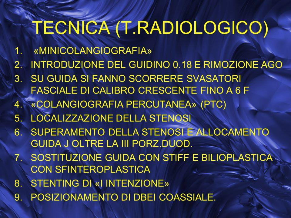TECNICA (T.RADIOLOGICO)