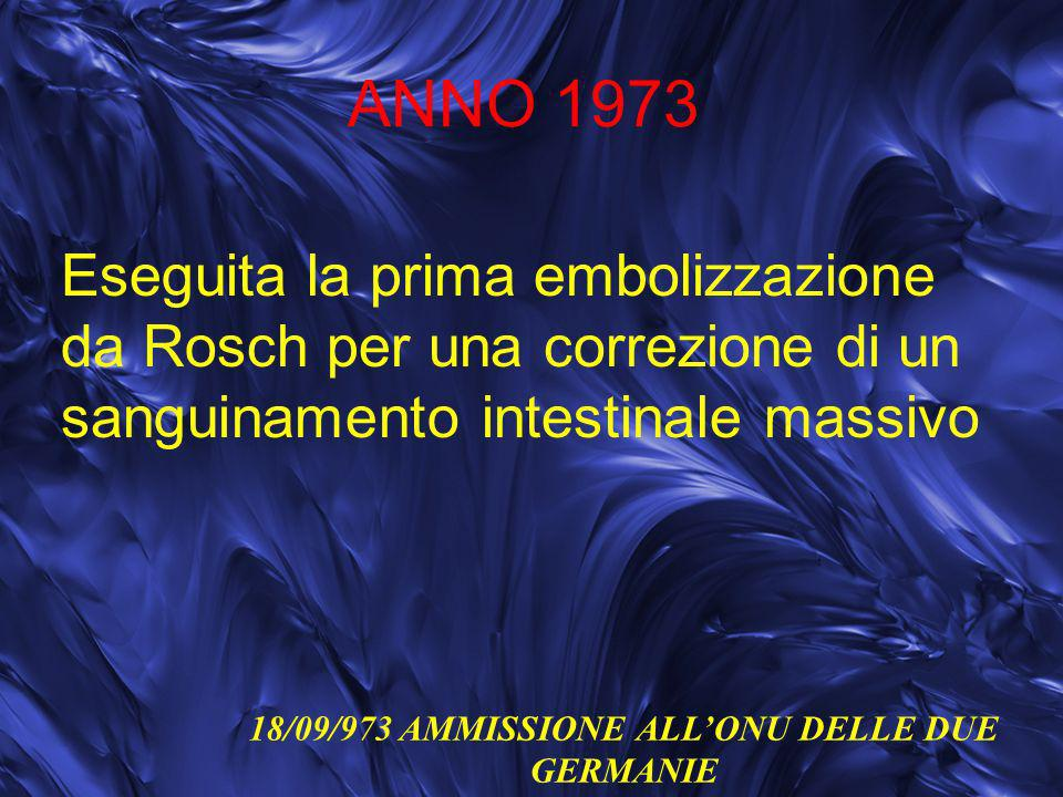 18/09/973 AMMISSIONE ALL'ONU DELLE DUE GERMANIE