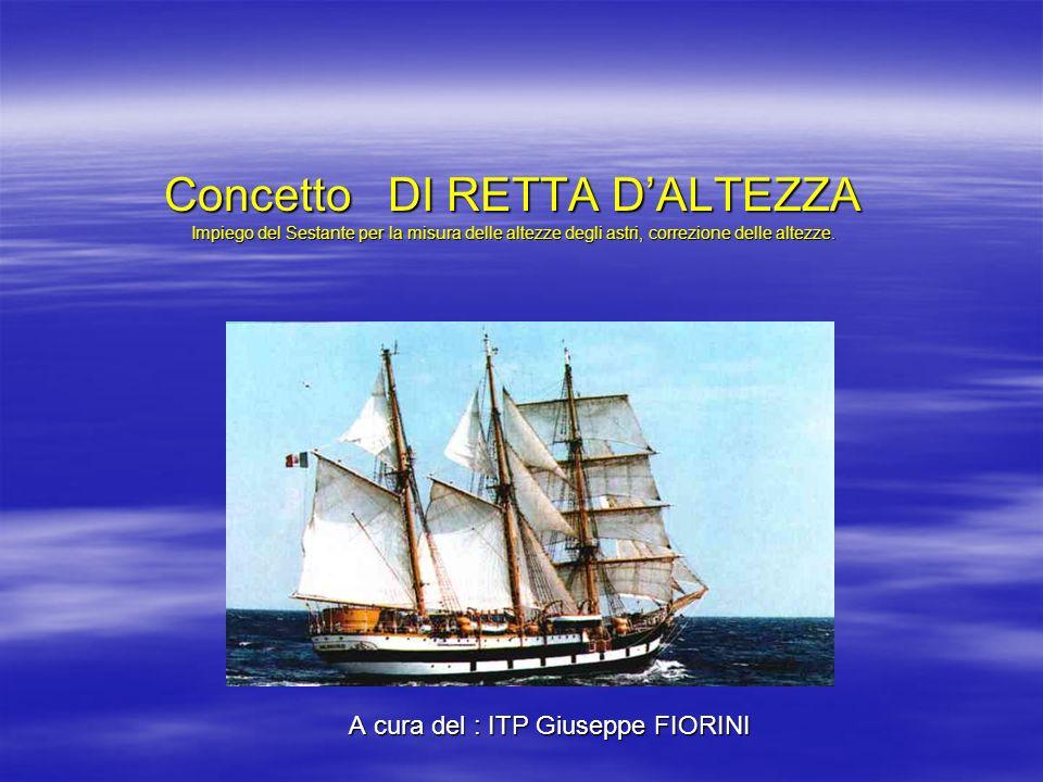 A cura del : ITP Giuseppe FIORINI