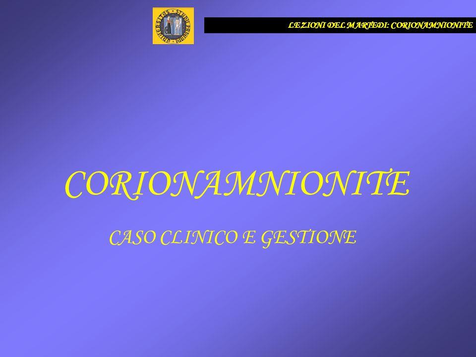 CASO CLINICO E GESTIONE