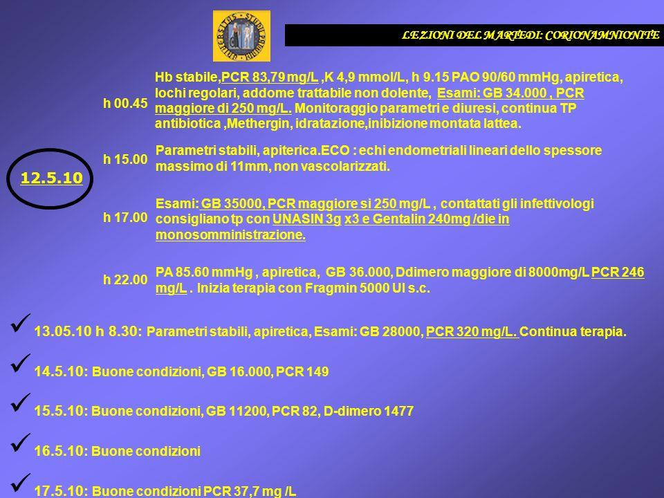 14.5.10: Buone condizioni, GB 16.000, PCR 149