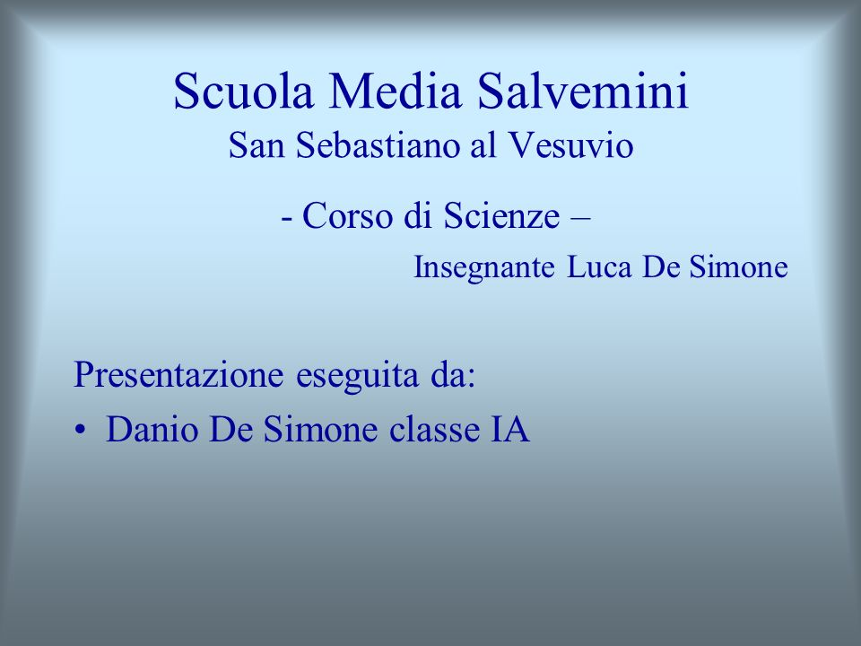 Scuola Media Salvemini San Sebastiano al Vesuvio