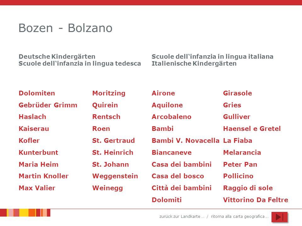 Bozen - Bolzano Dolomiten Moritzing Airone Girasole Gebrüder Grimm