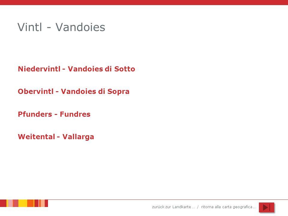 Vintl - Vandoies Niedervintl - Vandoies di Sotto