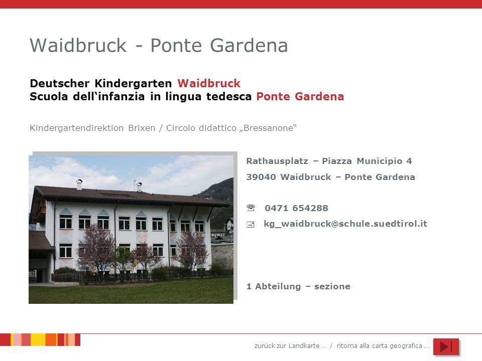 Waidbruck - Ponte Gardena