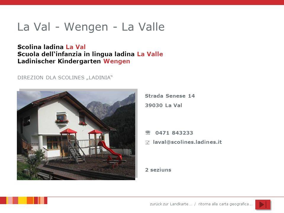 La Val - Wengen - La Valle