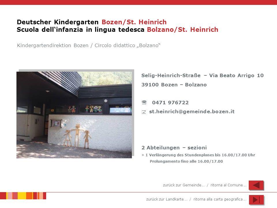 Deutscher Kindergarten Bozen/St