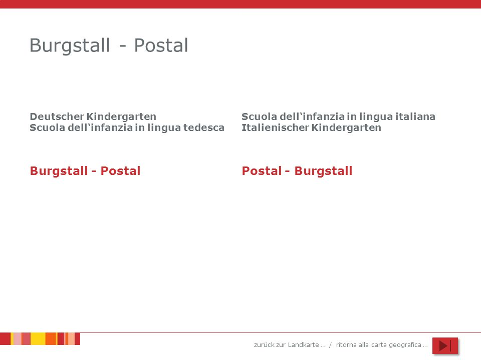 Burgstall - Postal Burgstall - Postal Postal - Burgstall