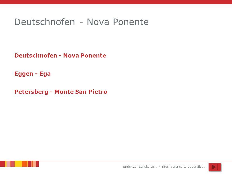 Deutschnofen - Nova Ponente