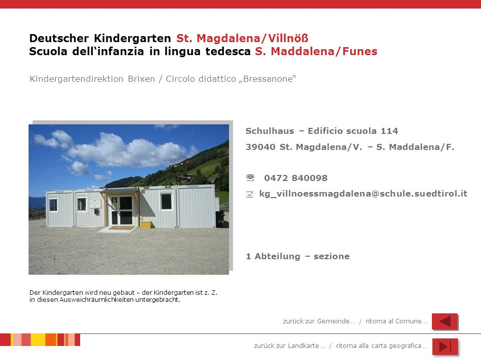 Deutscher Kindergarten St