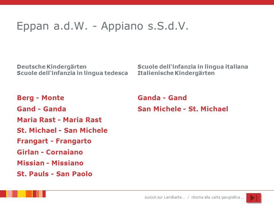Eppan a.d.W. - Appiano s.S.d.V.