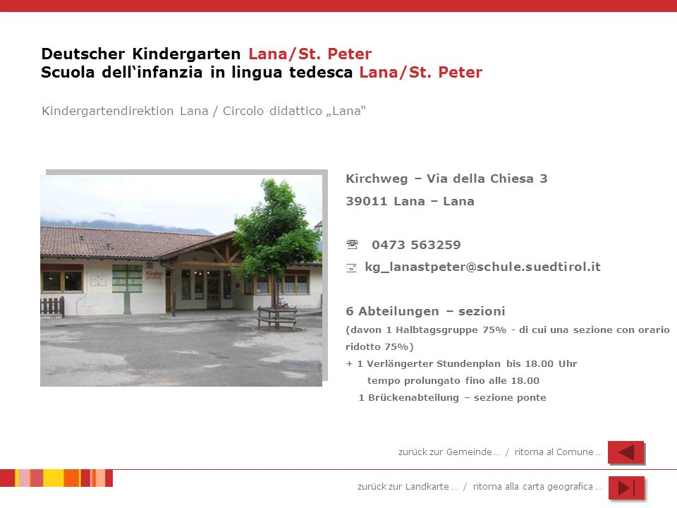Deutscher Kindergarten Lana/St