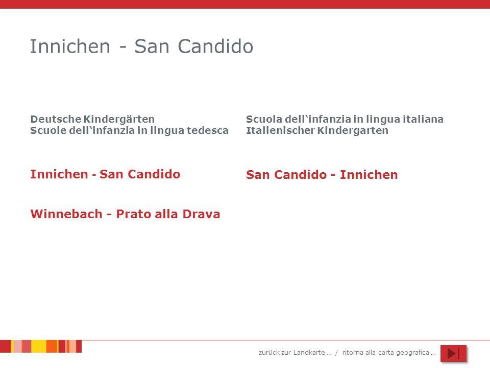 Innichen - San Candido Innichen - San Candido San Candido - Innichen