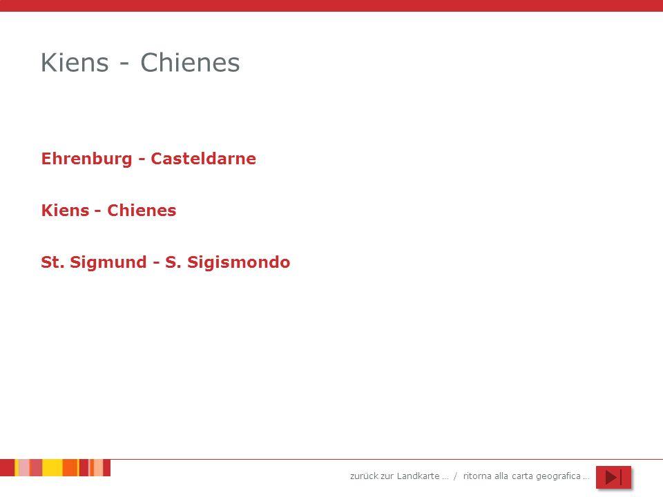 Kiens - Chienes Ehrenburg - Casteldarne Kiens - Chienes