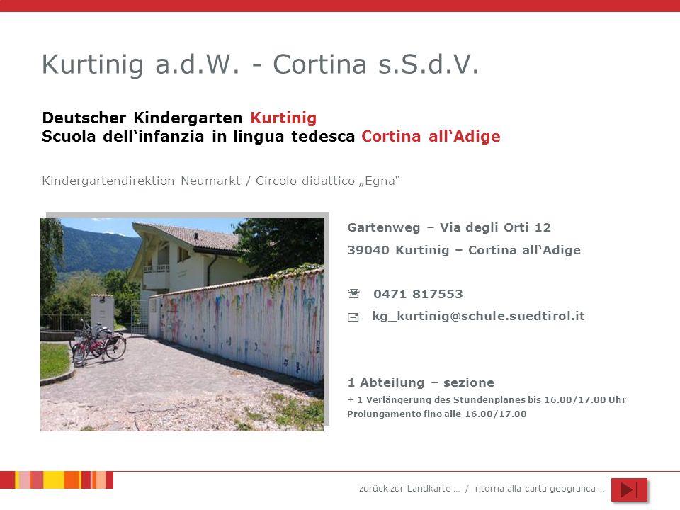 Kurtinig a.d.W. - Cortina s.S.d.V.