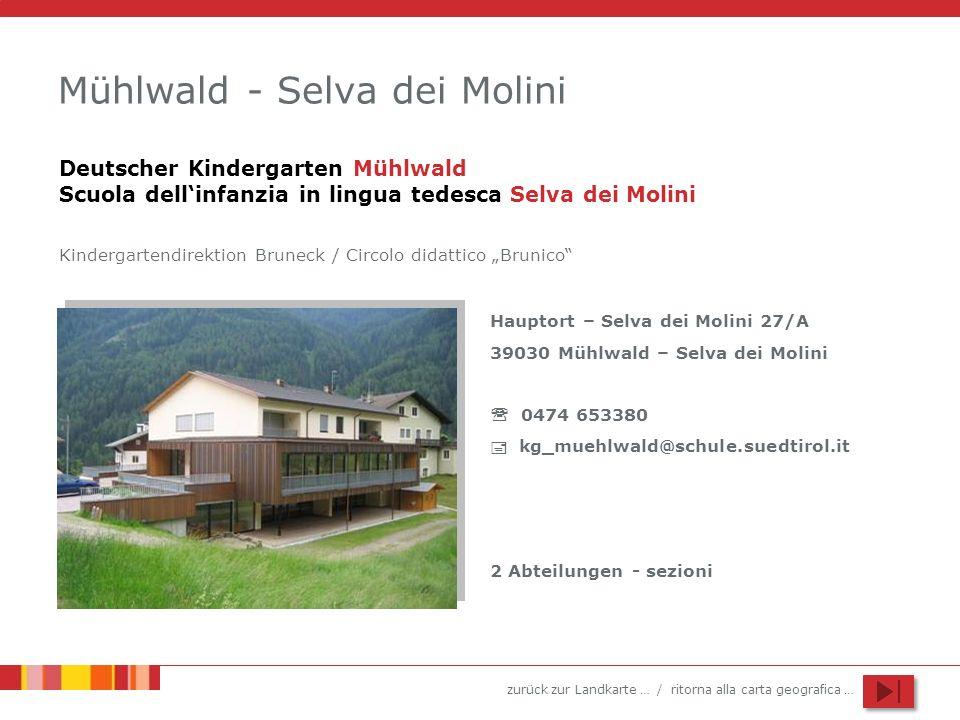 Mühlwald - Selva dei Molini