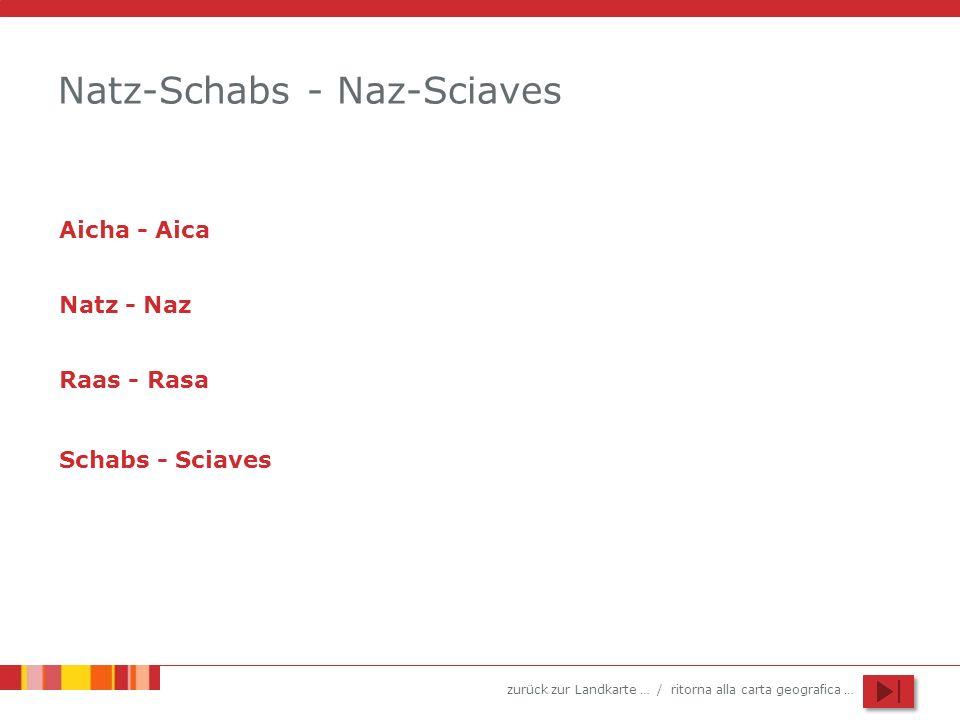 Natz-Schabs - Naz-Sciaves
