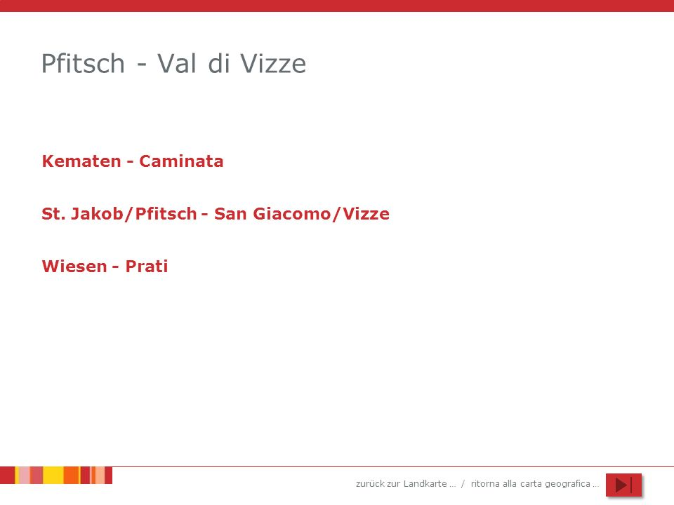 Pfitsch - Val di Vizze Kematen - Caminata