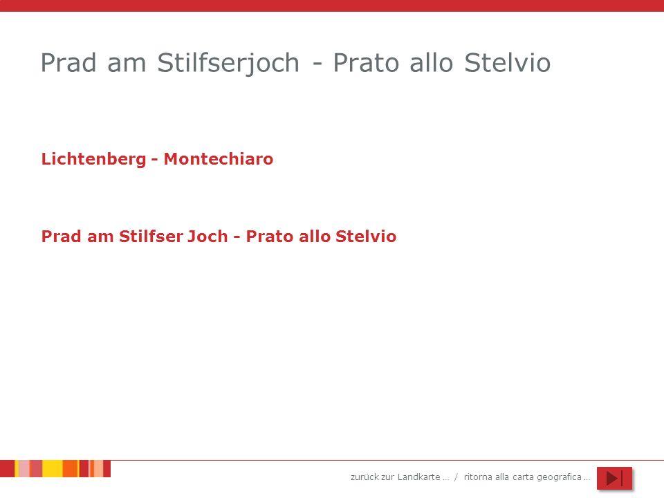 Prad am Stilfserjoch - Prato allo Stelvio
