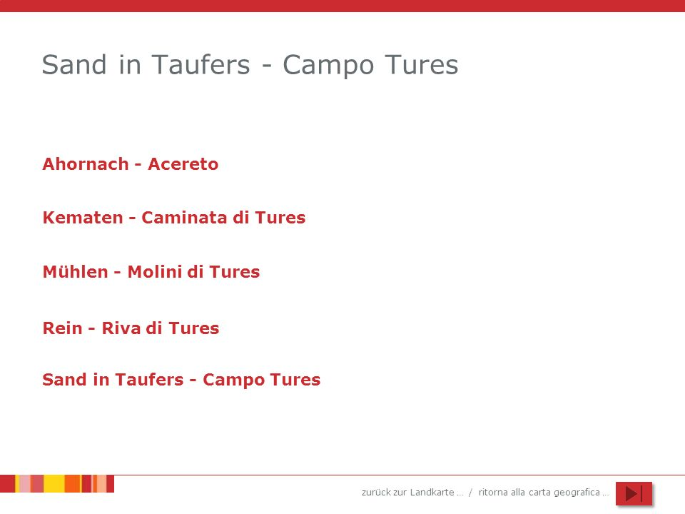 Sand in Taufers - Campo Tures