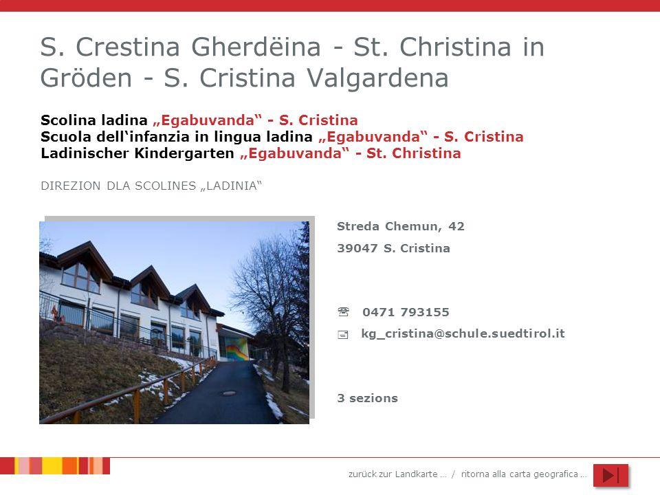 S. Crestina Gherdëina - St. Christina in Gröden - S