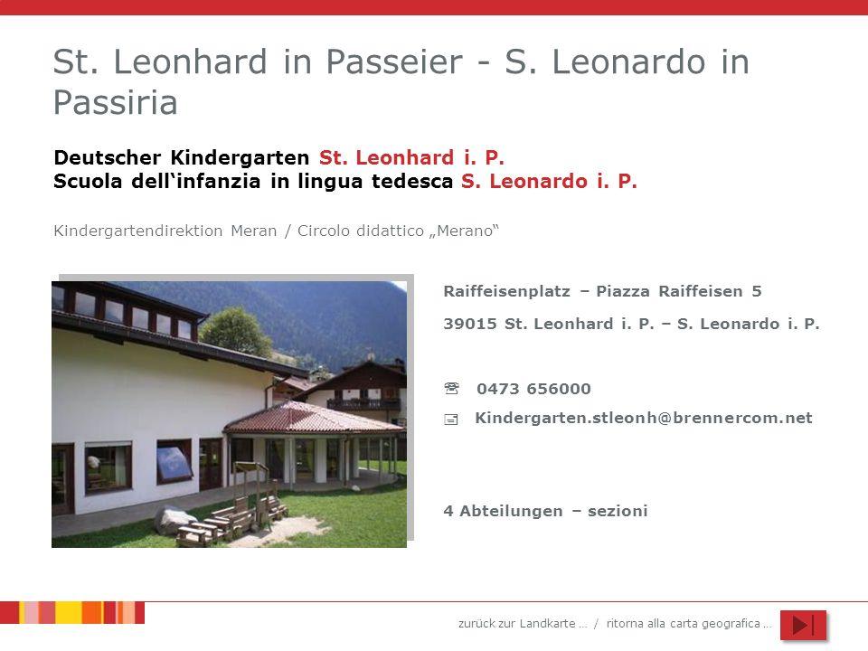 St. Leonhard in Passeier - S. Leonardo in Passiria