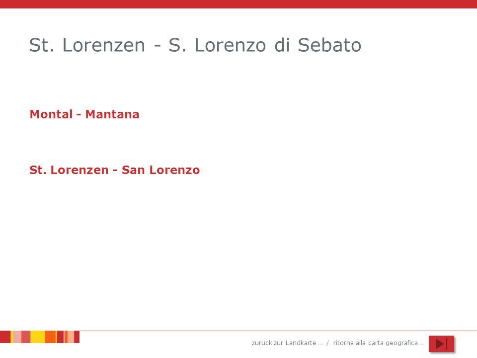 St. Lorenzen - S. Lorenzo di Sebato