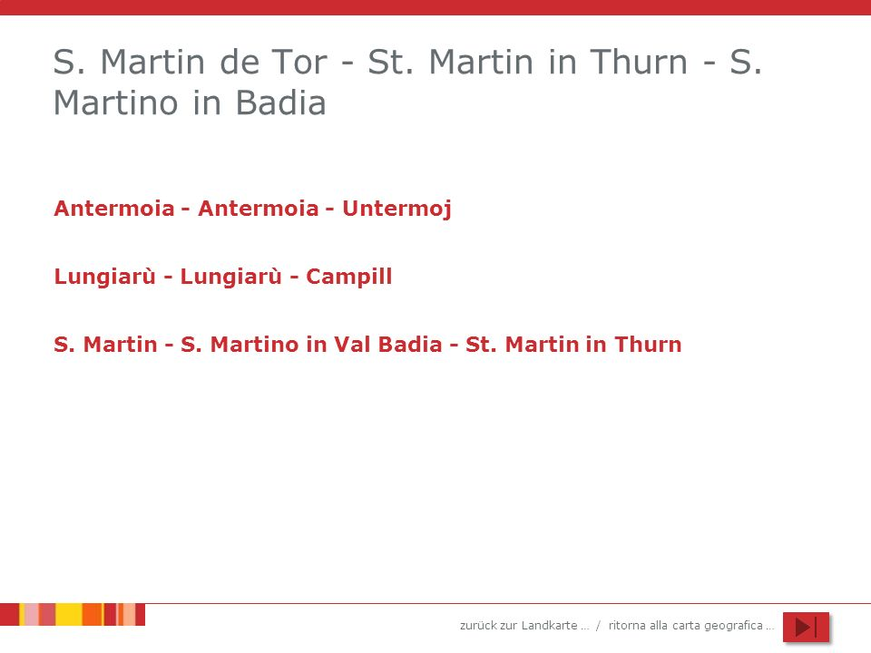 S. Martin de Tor - St. Martin in Thurn - S. Martino in Badia