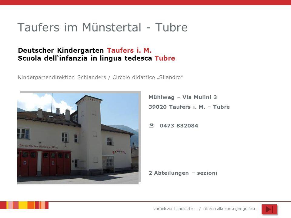 Taufers im Münstertal - Tubre