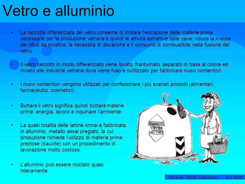 Vetro e alluminio