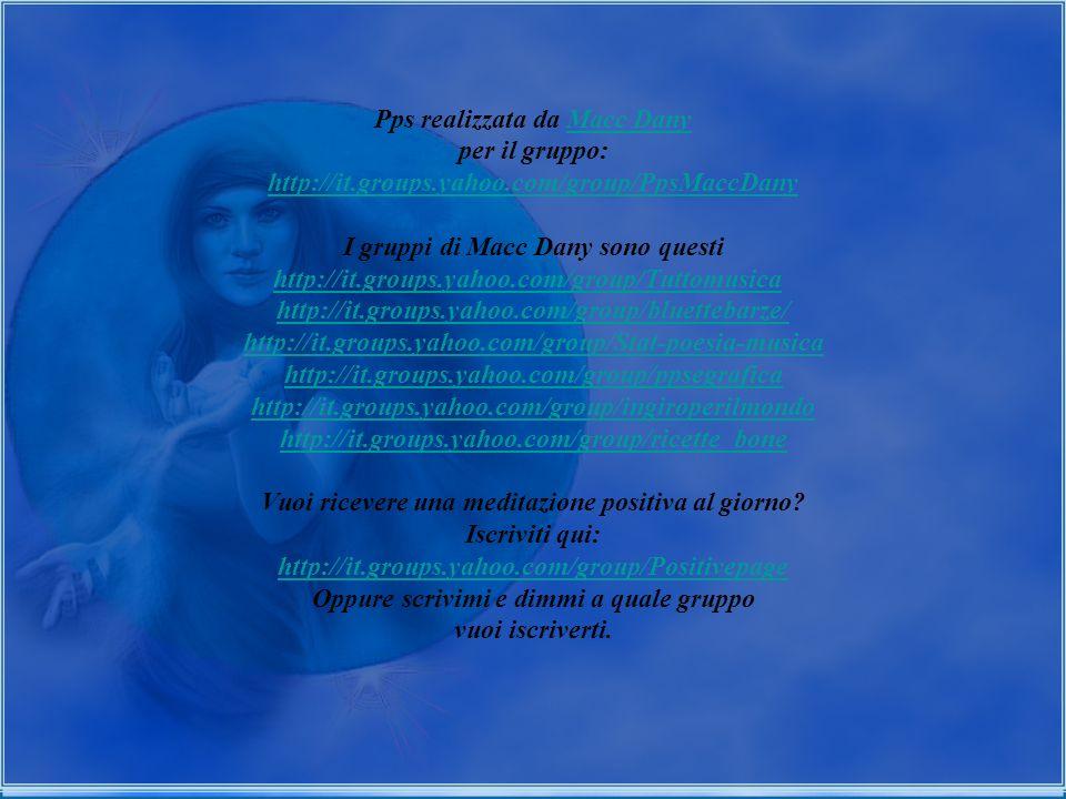 Pps realizzata da Macc Dany per il gruppo: