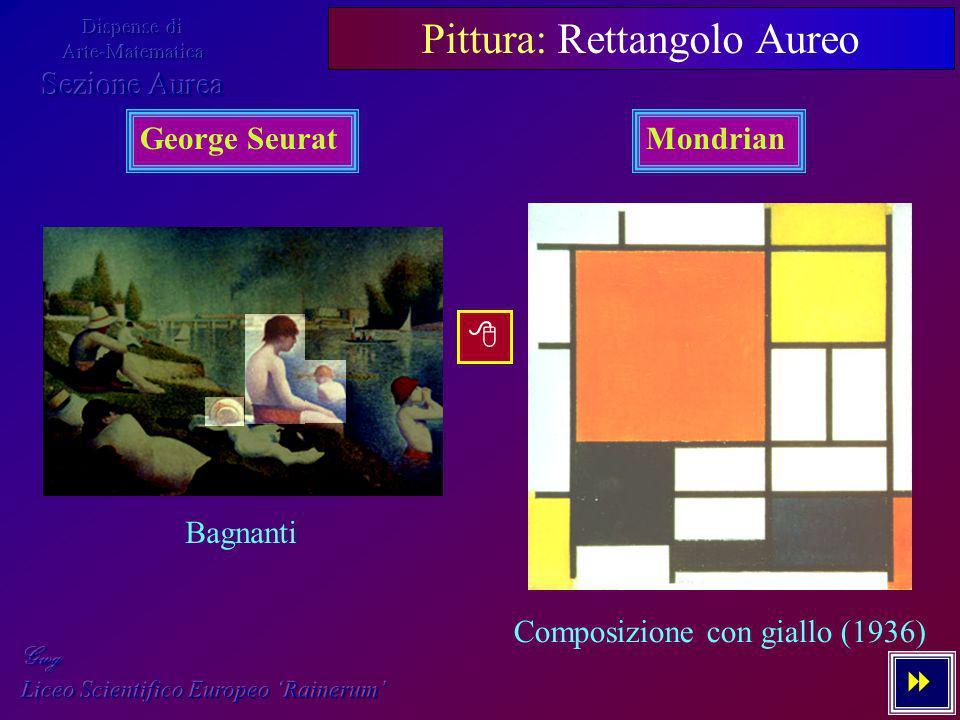 Pittura: Rettangolo Aureo
