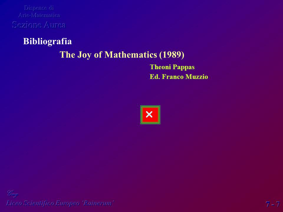 The Joy of Mathematics (1989)