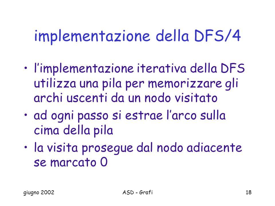 implementazione della DFS/4