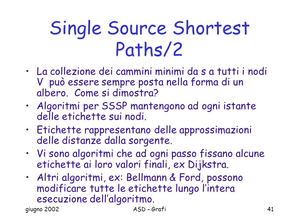 Single Source Shortest Paths/2