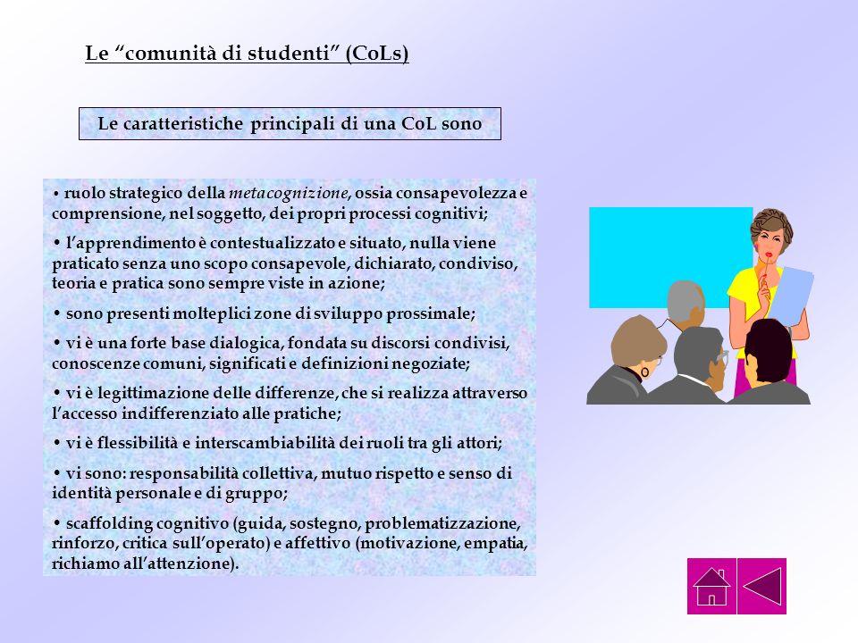 Le comunità di studenti (CoLs)