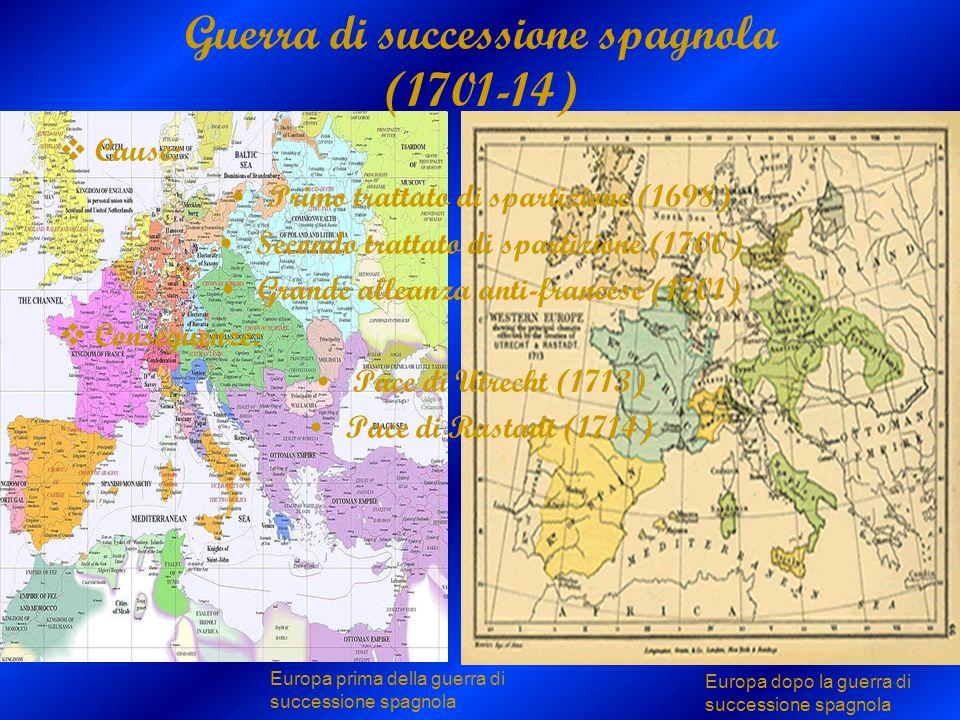 Guerra di successione spagnola (1701-14)