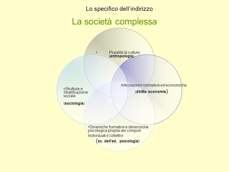 La società complessa Pluralità di culture (antropologia)