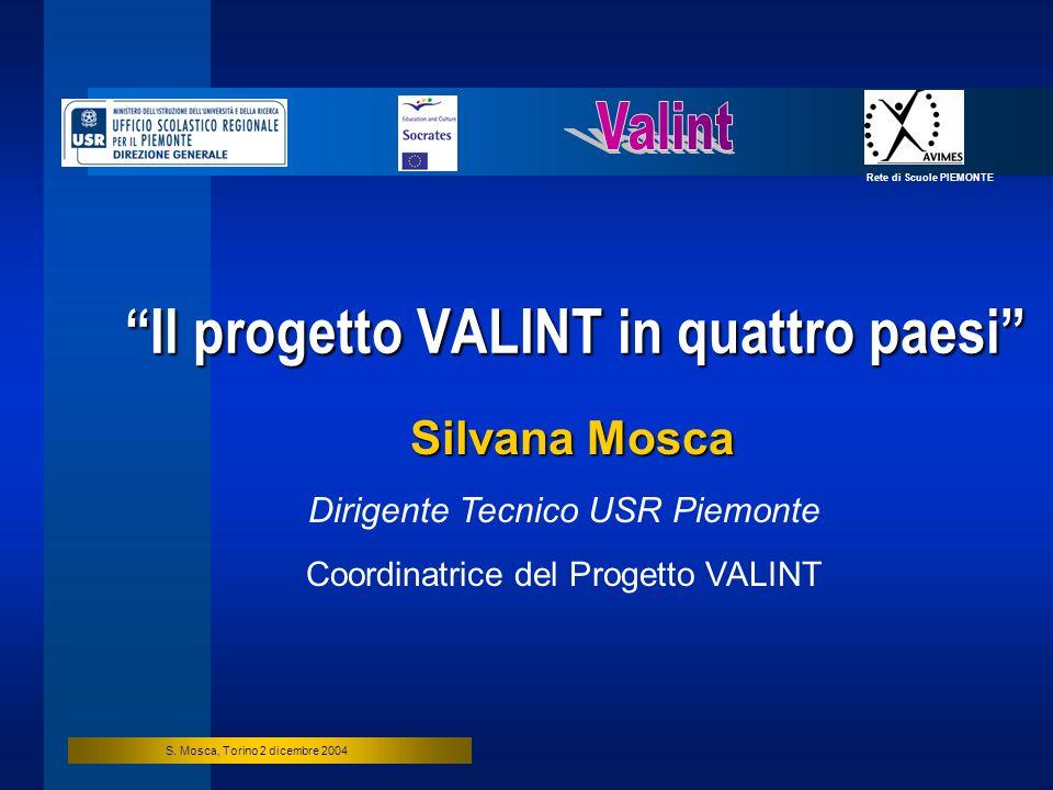 Il progetto VALINT in quattro paesi