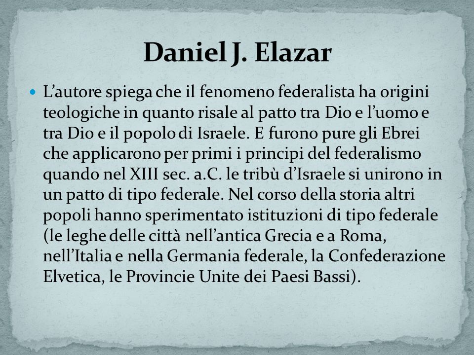 Daniel J. Elazar