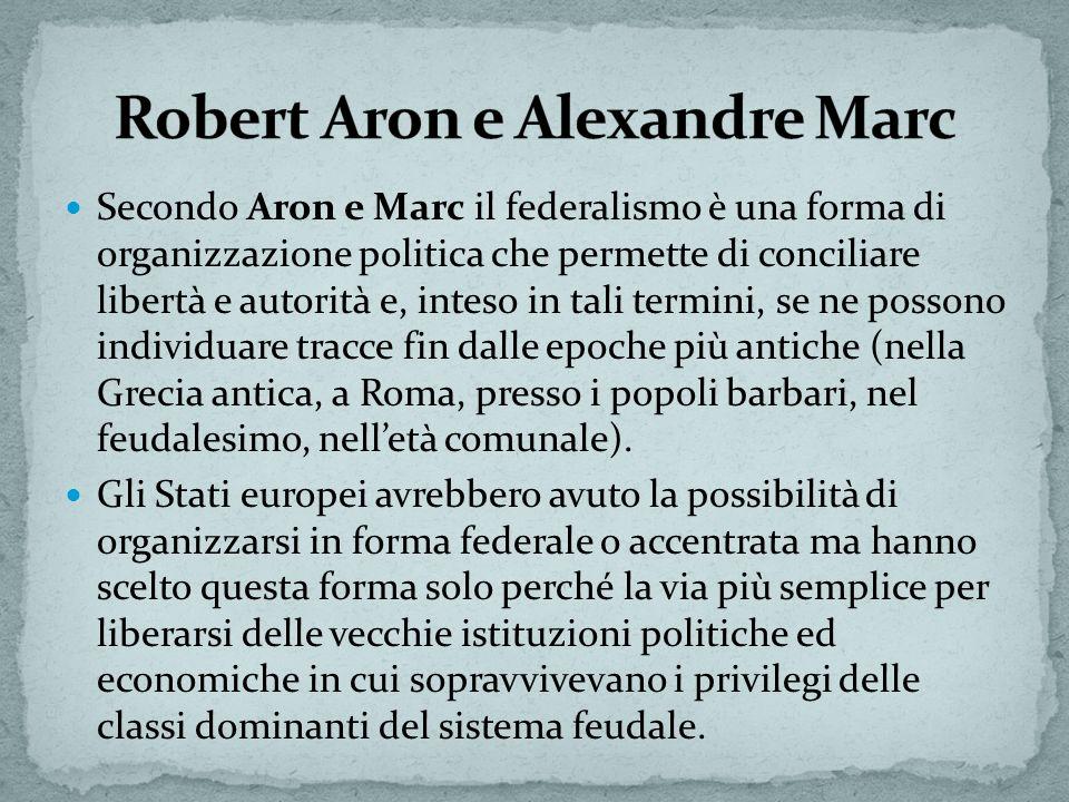 Robert Aron e Alexandre Marc