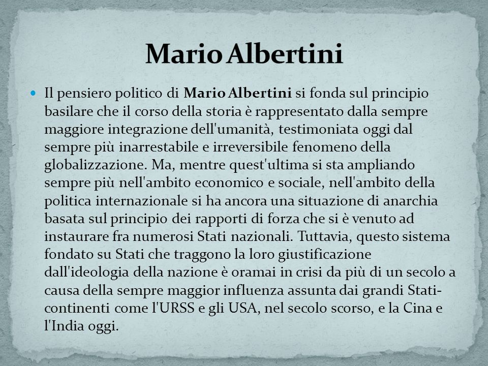Mario Albertini